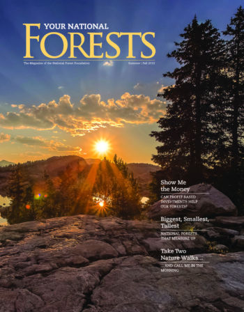 Your National Forests Magazine Summer/Fall 2019 Cover