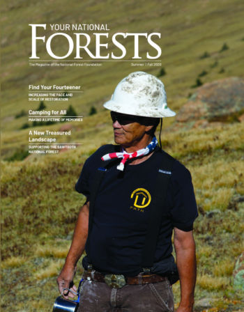 Your National Forests Magazine Summer/Fall 2020 Cover
