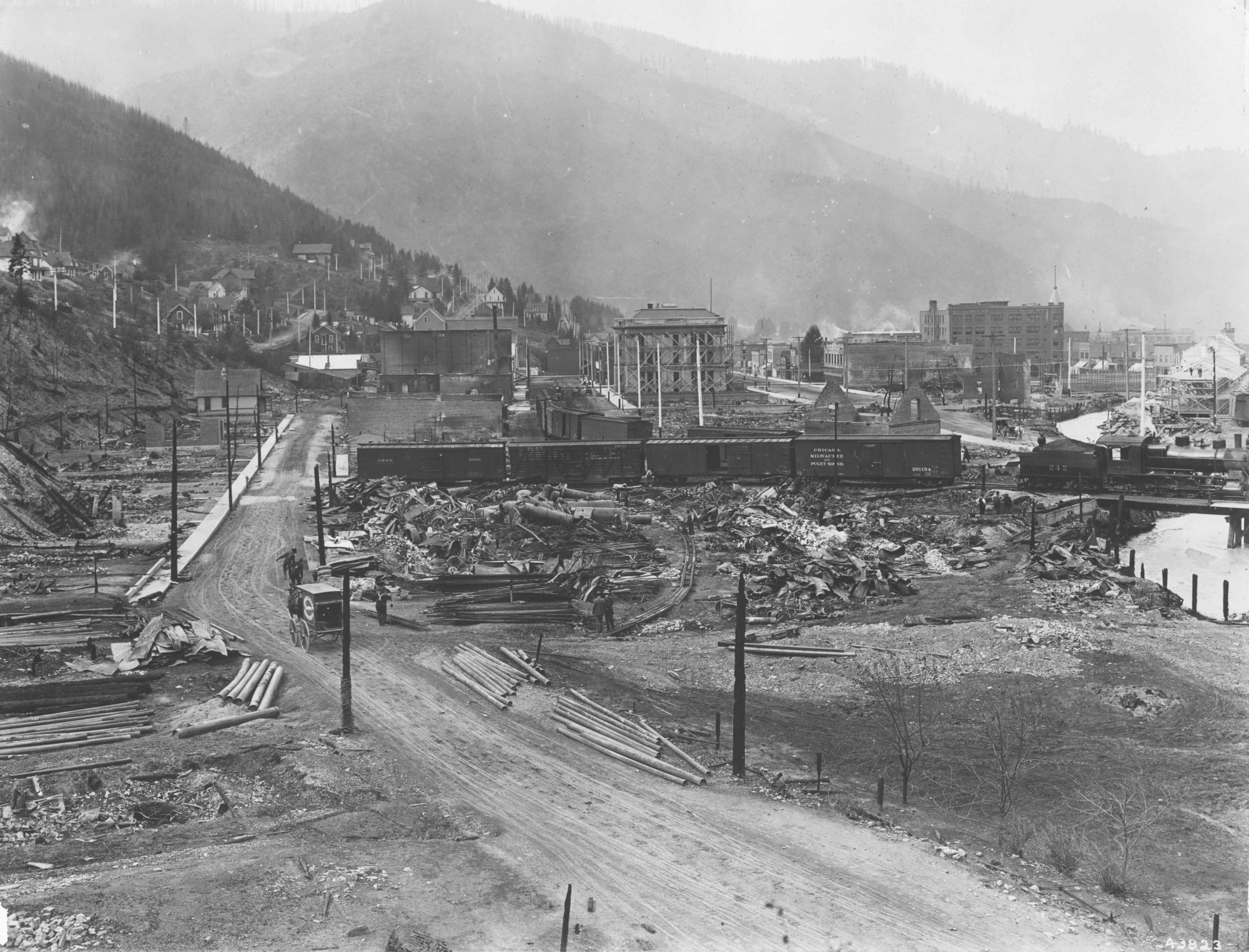 Blazing Battles: The 1910 Fire and Its Legacy - National