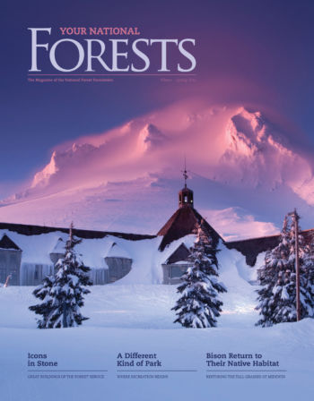 Your National Forests Magazine Winter/Spring 2016 Cover