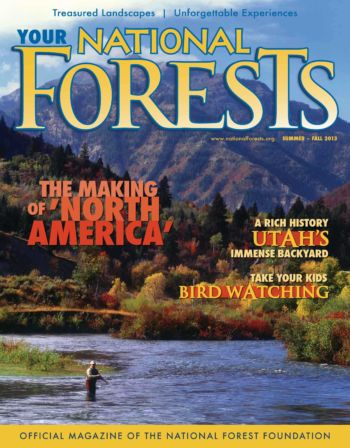 Your National Forests Magazine Summer/Fall 2013 Cover