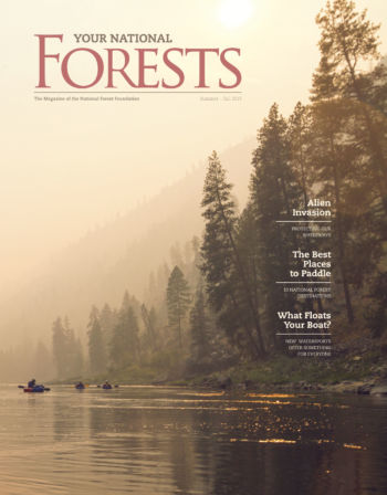 Your National Forests Magazine Summer/Fall 2015 Cover