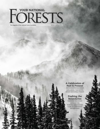 Your National Forests Magazine Winter/Spring 2015 Cover