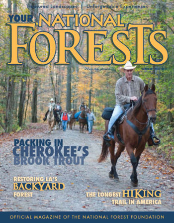 Your National Forests Magazine Summer/Fall 2011 Cover