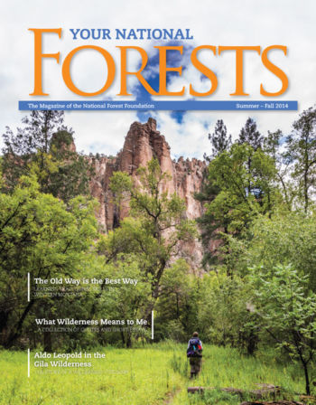 Your National Forests Magazine Summer/Fall 2014 Cover