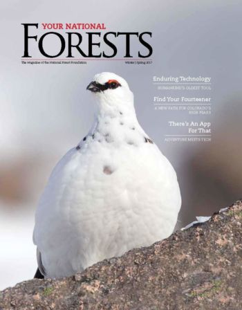 Your National Forests Magazine Winter/Spring 2017 Cover