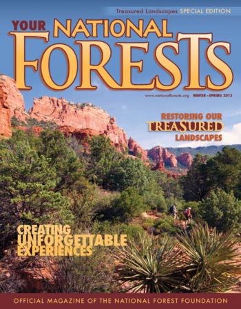 Your National Forests Magazine Winter/Spring 2012 Cover