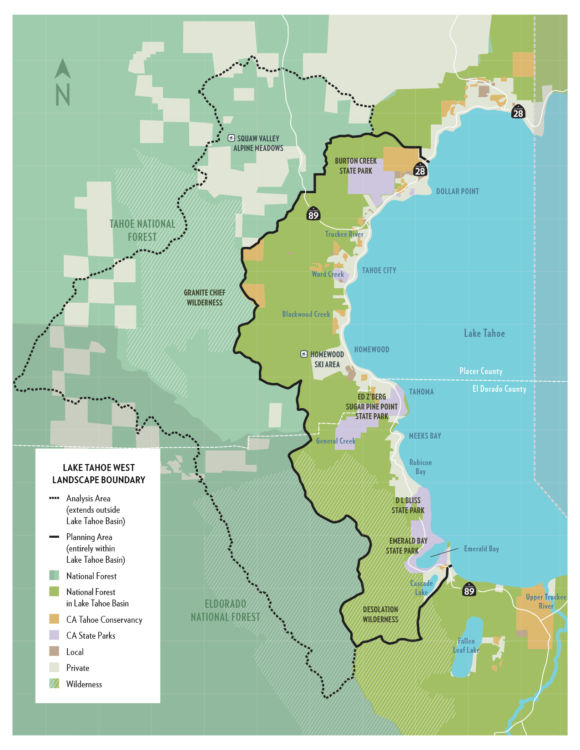 Lake Tahoe West Restoration Partnership National Forest Foundation